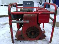 Briggs and Stratton 14FB Motor and Pump