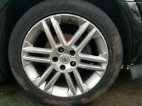 Vauxhall vectra 17 inch alloy wheels