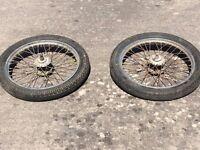 Horse cart tyres