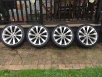 VW Interlagos Alloys x4 (tires included) Good condition