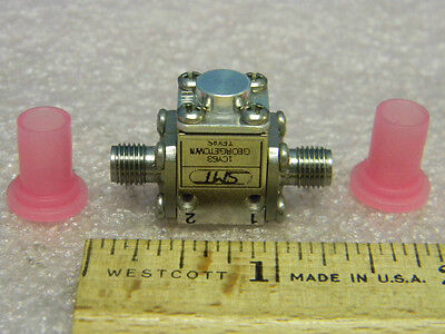 New Sma Rf Coaxial Isolator 18.0-22 Ghz Sierra Microwave Technology Smi-1822