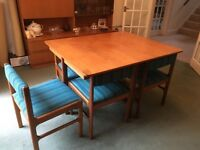 McIntosh Dinning Suite extending dinning table plus 6 chairs