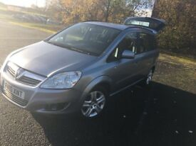 2010 Vauxhall Zafira 1.7 Diesel 5 door Good Condition