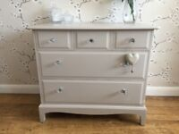 Stag Drawers 5 Drawers Sideboard Painted Laura Ashley Shabby Chic