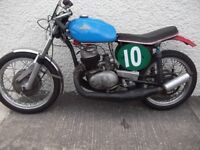 Cotton Villiers racing, sprint, hill climb, 250cc