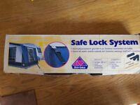 Caravan awning Safe Lock System