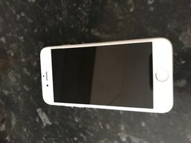 I phone 6 silver 16 go ee