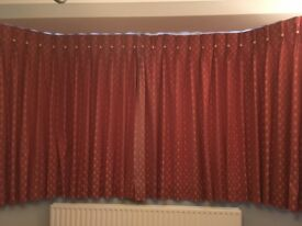 A pair of lined Debenhams curtains