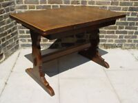 FREE DELIVERY Vintage Ercol Dining Table Retro Mid Century Furniture