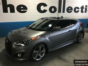2013 Hyundai Veloster Turbo w/Tech Pkg & Matte Grey Pkg