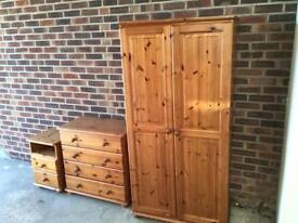 Bedroom furniture (Pine)
