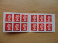 8 books of 12x 1st Class Royal Mail Self-Adhesive Stamps