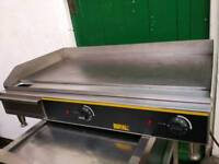 Commercial Electric Buffalo super wide griddle hot plate, burger grill BBQ