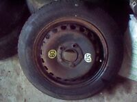 BMW 3 series E36/46 Space saver wheel