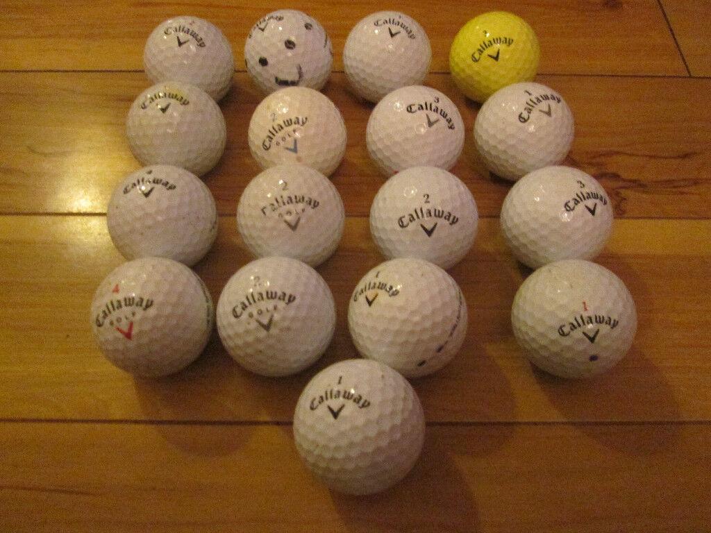 17x Callaway Golf Balls