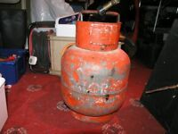 Calor Gas small Red propane Bottle, Hose And Blowlamp Weymouth