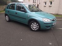 53 PLATE VAUXHALL CORSA 1.0 PETROL 5 DOORS-- ONLY DONE 32K-- MOT TILL JAN. 2017-- ONE OWNER FROM NEW