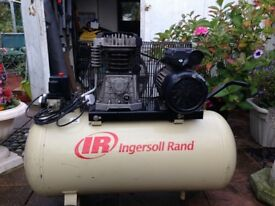 air compressor ,ingersol rand.