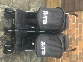 Zeta voom double pushchair