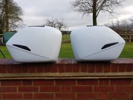 2009 Honda VFR top box and side panniers