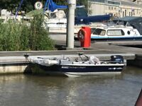 Cetus 9.5 SE DORY c/w Snipe trailer and 9.8 Tohatsu outboard