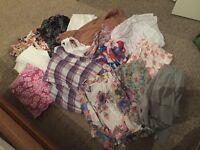 A Bag of ladies 12 clothes