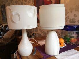 Belleek lamps