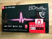 AMD Radeon Sapphire Pulse RX 580 OC Graphic Card