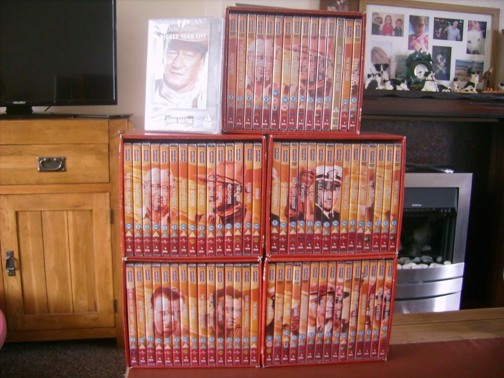 75 John Wayne Dvd Collection In Stoke On Trent