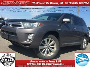 2013 Toyota Highlander Hybrid Limited | HEATED LEATHER | NAVIGAT