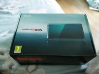 Nintendo 3DS Aqua Blue - Boxed and in Perfect Condition