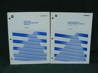 1 Used Allen Bradley Dl5 Off-line Programming Software Users Manual 2706-np5