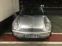 BLACK AND SILVER MINI COOPER Very clean tidy car, HPI clear, good service history, drives very well