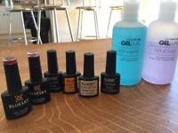 Gel nails full starter kit - UV/LED 2 in 1 lamp micropure
