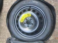 Volvo XC70 XC60 V60 17 inch Spare Wheel