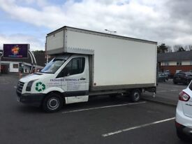 MAN AND VAN, HOUSE REMOVALS, WASTE REMOVALS, GARDEN CLEARANCE, RUBBISH CLEARANCE, GARAGE CLEARANCE