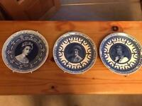 Wedgewood collectable plates.