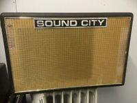 Sound City Speaker cabinet