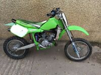 Kawasaki Kx 60 kids motocross bike, needs tlc