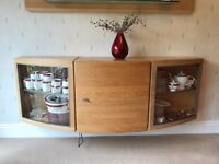 Large arched wall cupboard