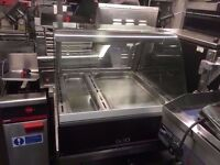 BAKERY RESTAURANT COMMERCIAL DISPLAY HOT FOOD CABINET PATISSERIE CATERING SHOP CAFE CAFETERIA