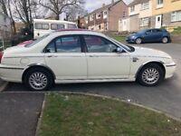 Rover 75 rare old English white