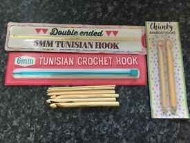 Crochet hooks and accessories