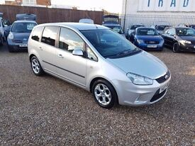 Ford C-Max 1.8 16v Zetec 5dr, HPI CLEAR. LONG MOT. GREAT FAMILY CAR. P/X WELCOME