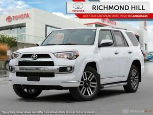 2018 Toyota 4Runner Limited Package 7-Passenger  - $191.25 /Wk