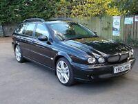 Jaguar x type sovereign 3.0 4 wheel drive