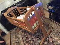 Mother care baby crib