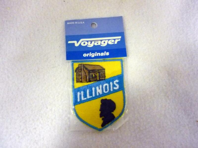 NIP VOYAGER ILLINOIS LINCOLN LOG LINCOLN PROFILE PATCH