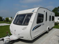 Sterling Eccles Jewel 2008 4 BERTH with Sunncamp 390 Air Awning