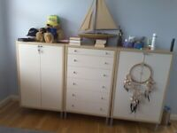 Cabinet and Chest of Drawers